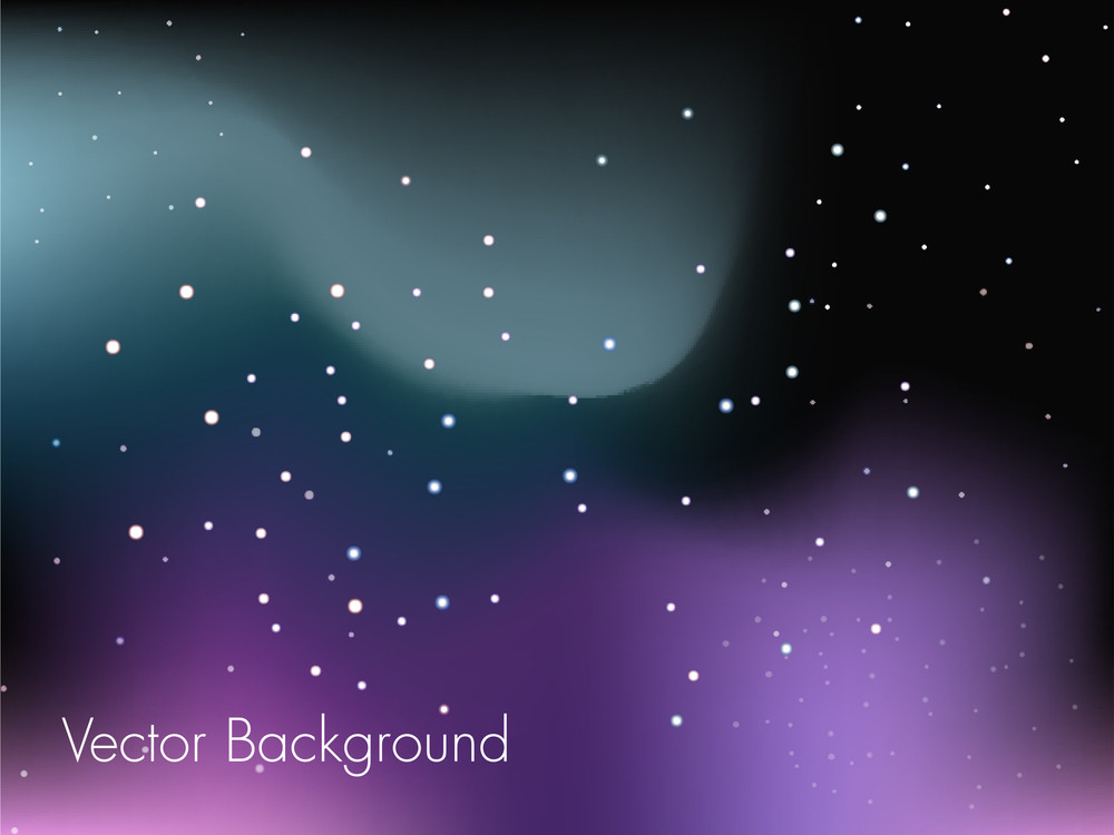 A Glowing Vector Background