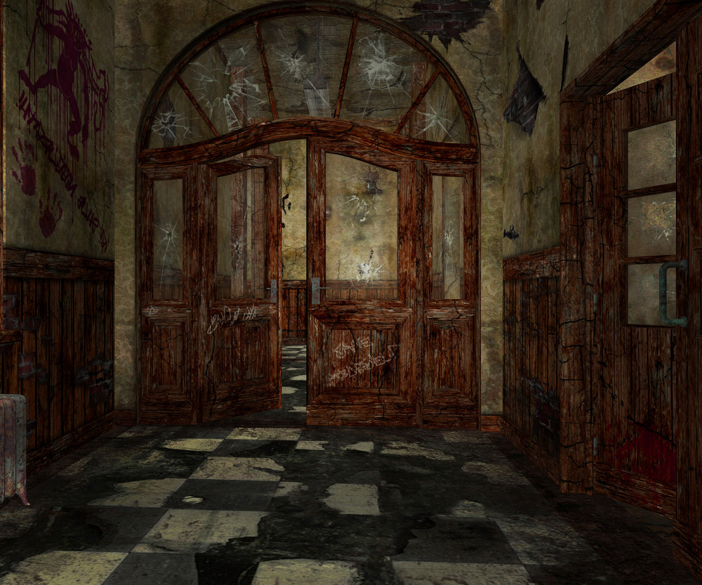 Abandoned Interior Background