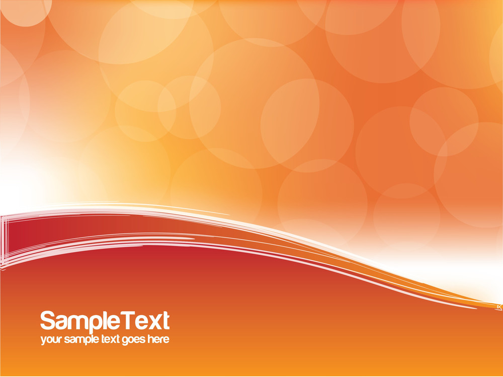 Absract Orange Design