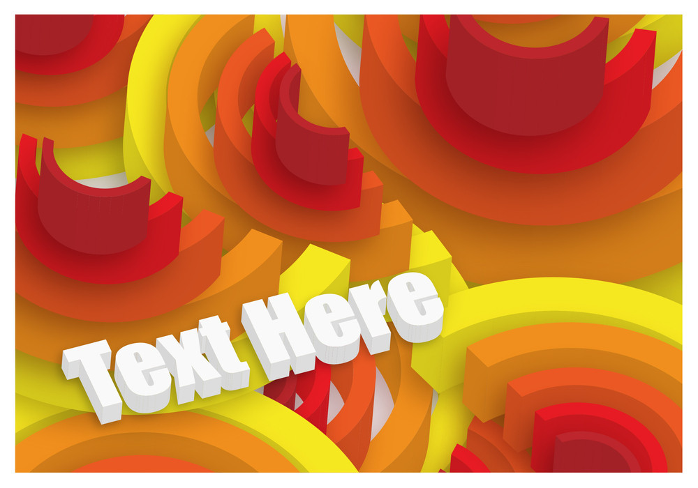 Abstract 3d Design Background