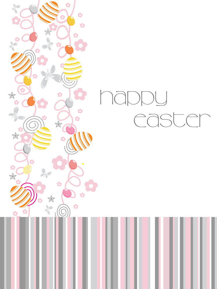 Abstract Background For Happy Easter Day