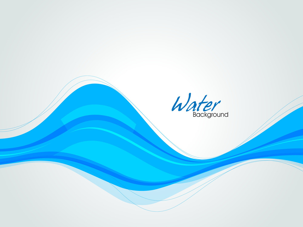 Abstract Background In Blue With Space For Your Text