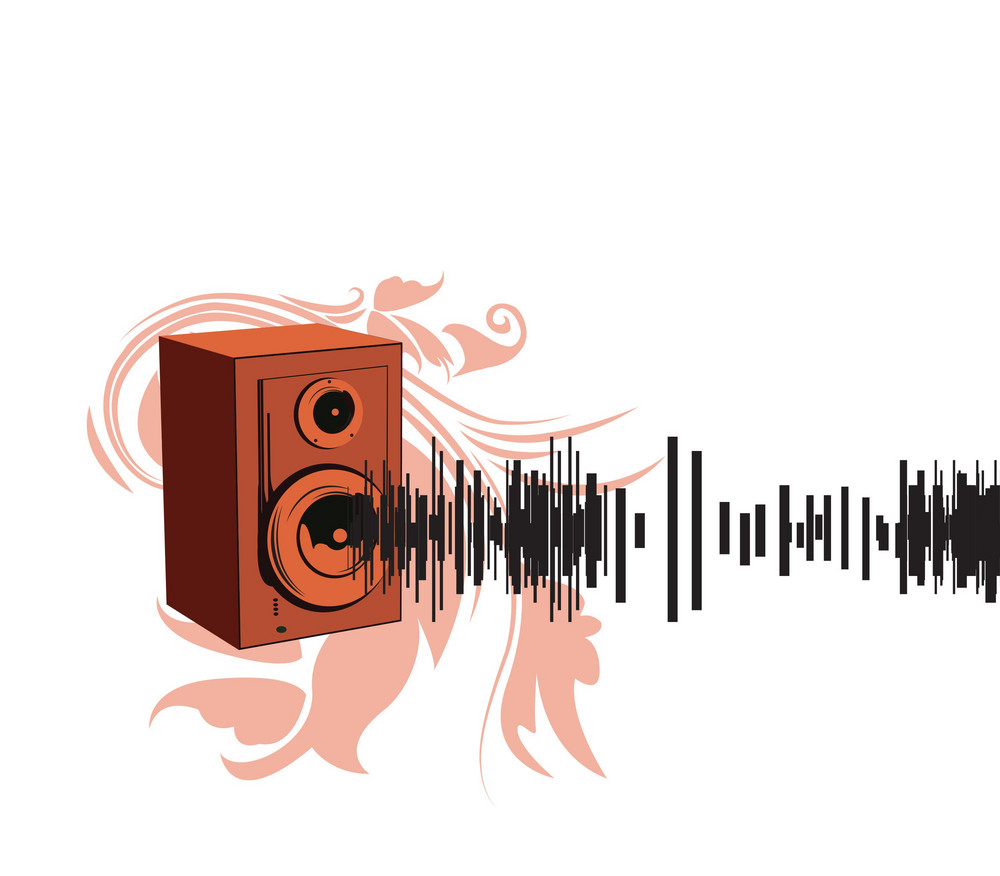 Abstract Background Musical Theme