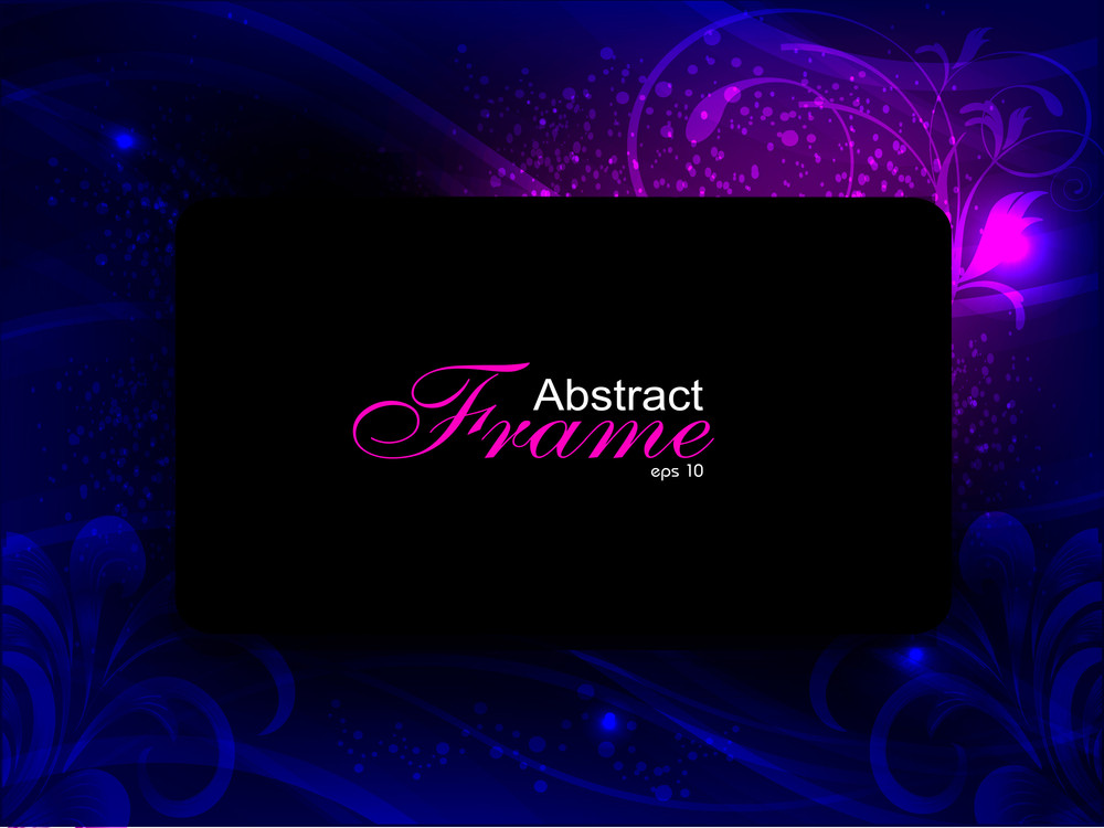 Abstract Background With Expolsive Glitters.
