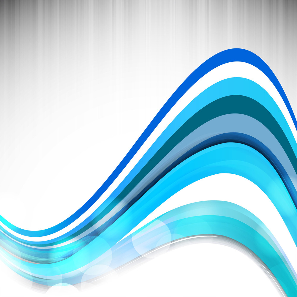 Abstract Background With Multicolored Water Waves
