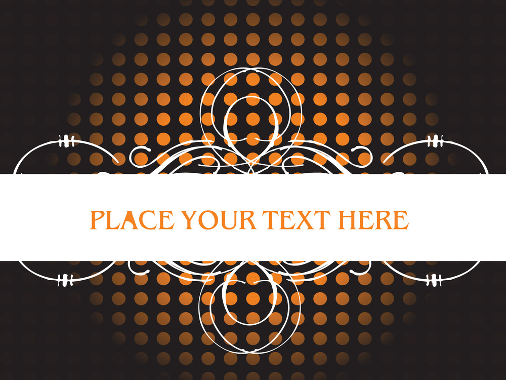 Abstract Background With Sample Text