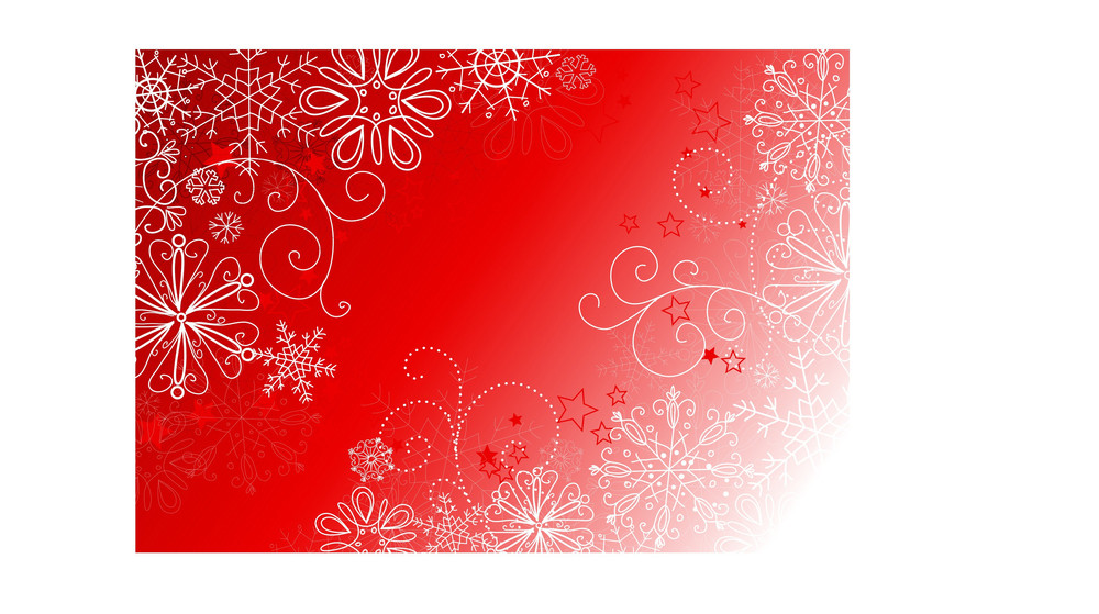Abstract Background With Snowflakes. Vector-