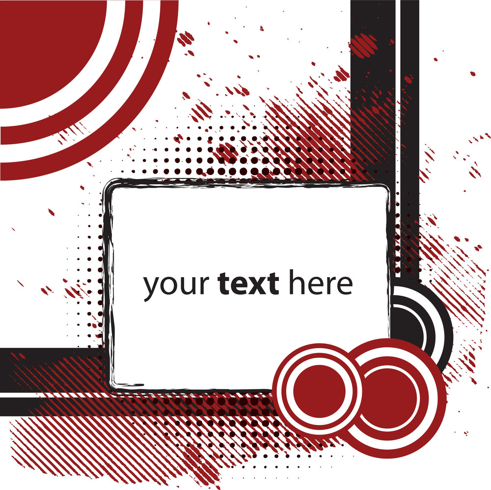 Abstract Background With Space For Text