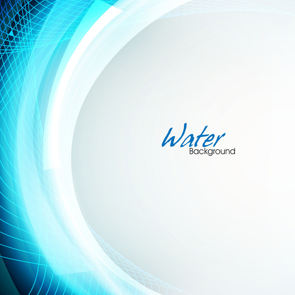 Abstract Background With Water Waves And White Lines