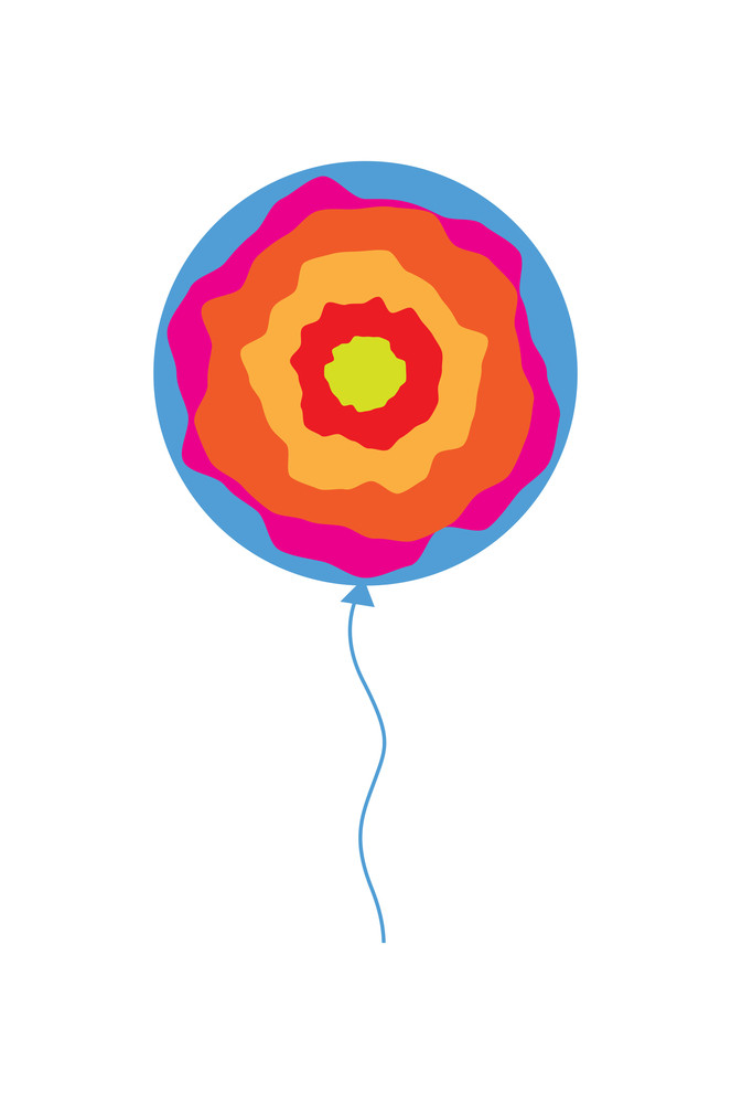 Abstract Balloon Design