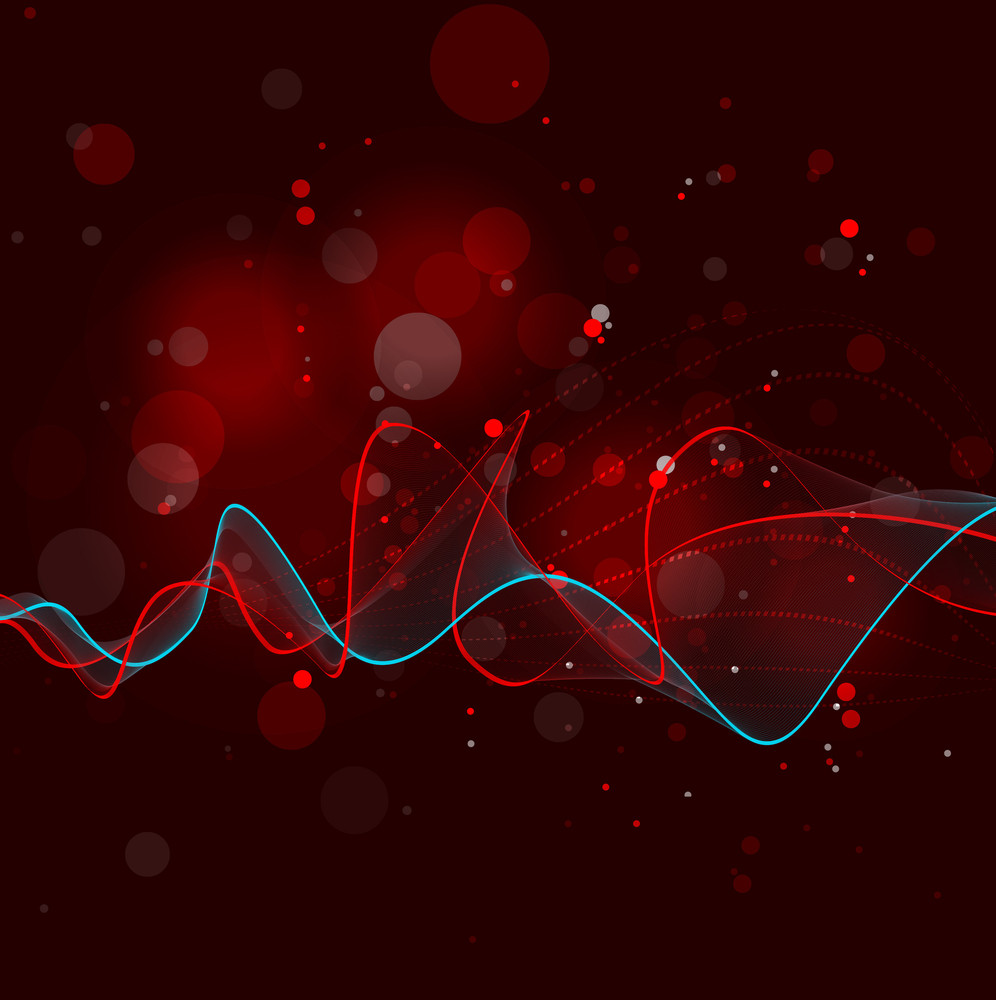 Abstract Blend Lines Background
