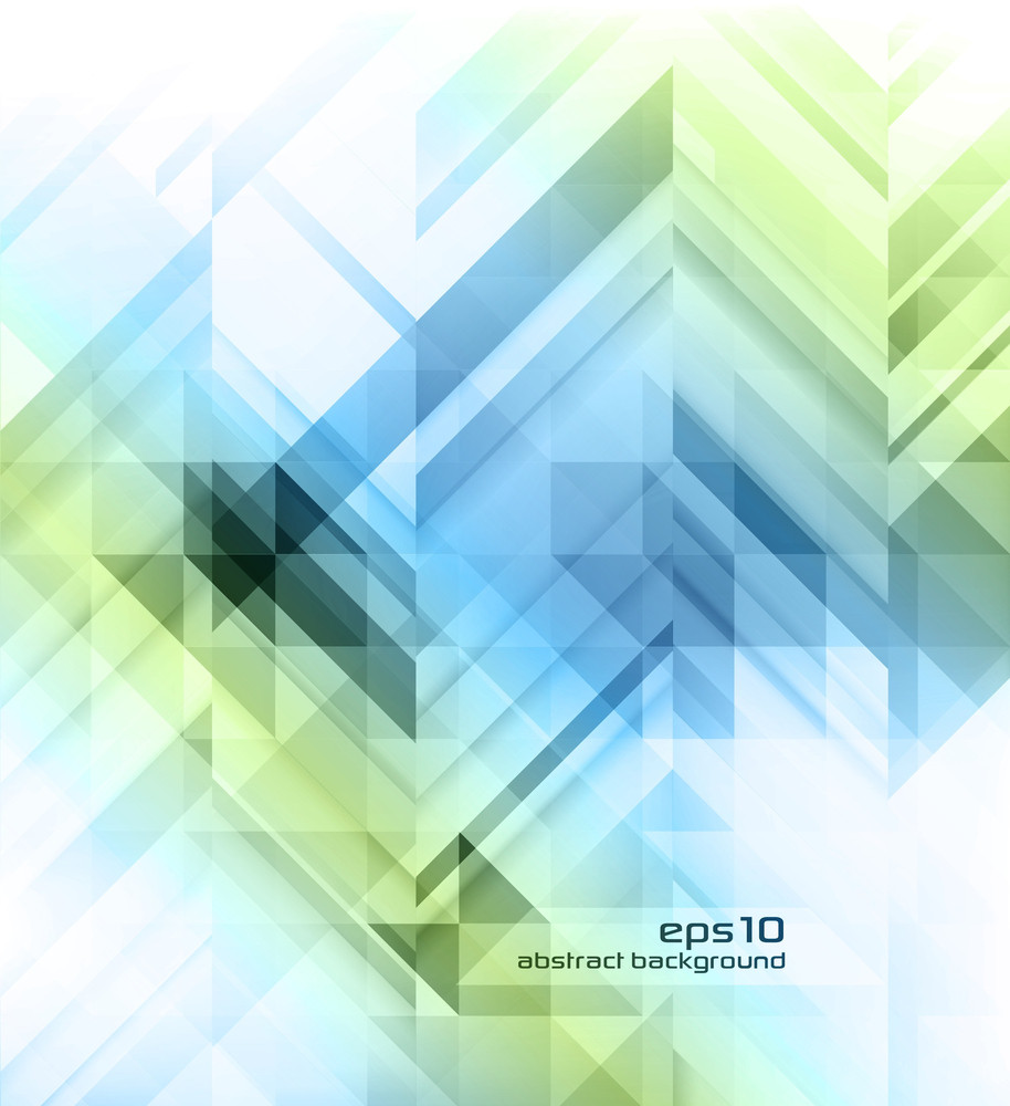 Abstract Blue And Green Business Background Layout