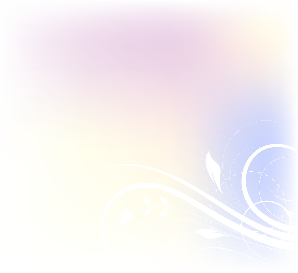 Abstract Blur Flourish Background