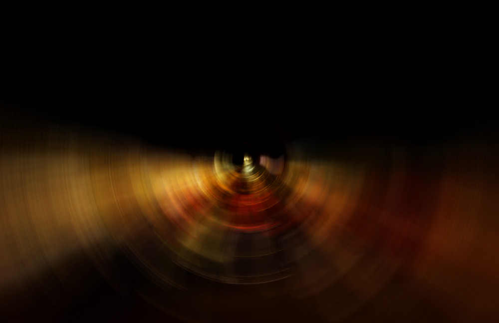 Abstract Blurred Retro Ripple Background