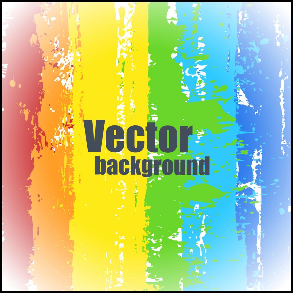 Abstract Bright Rainbow Splash Texture