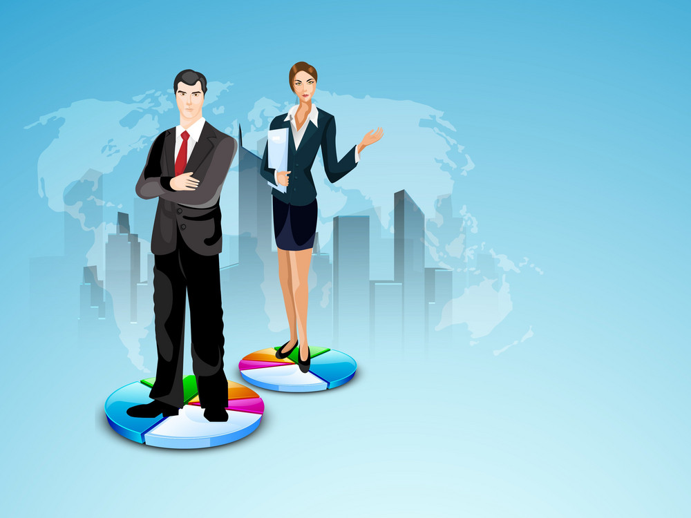 Abstract Business Concept