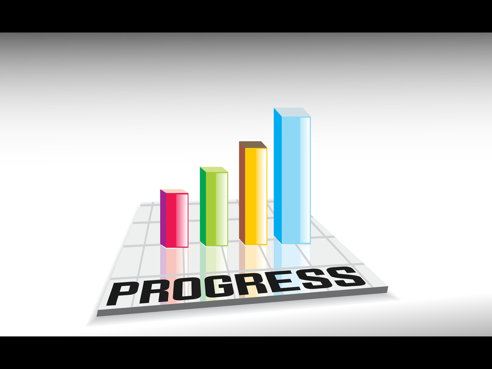 Abstract Business Growth Background
