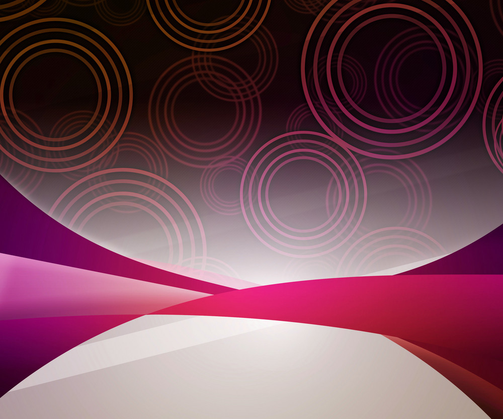 Abstract Circles Violet Background