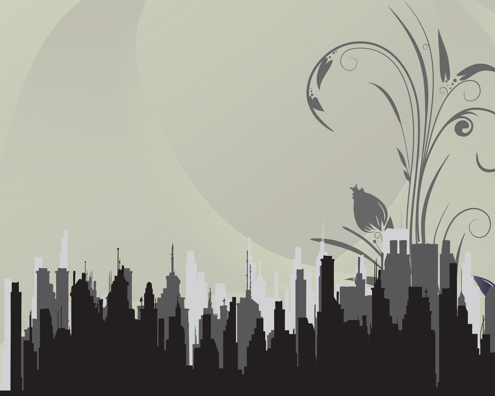 Abstract-city