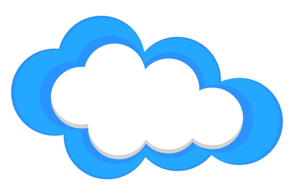Abstract Cloud Banner