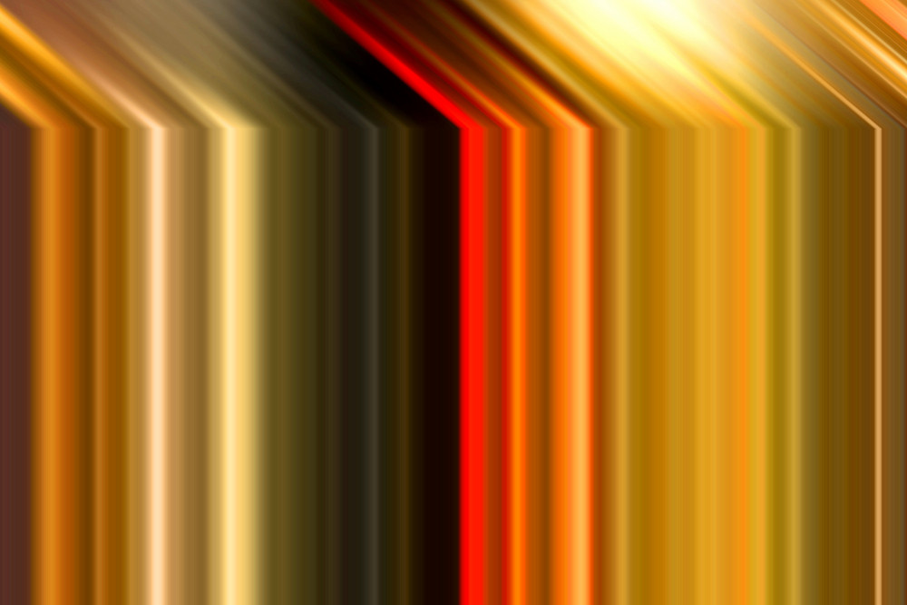 Abstract Colored Lines Design