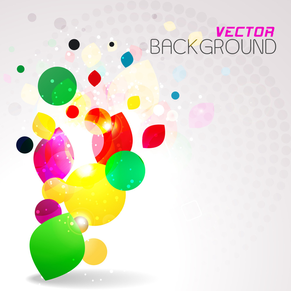 Abstract Colorful Background. Vector Illustration.
