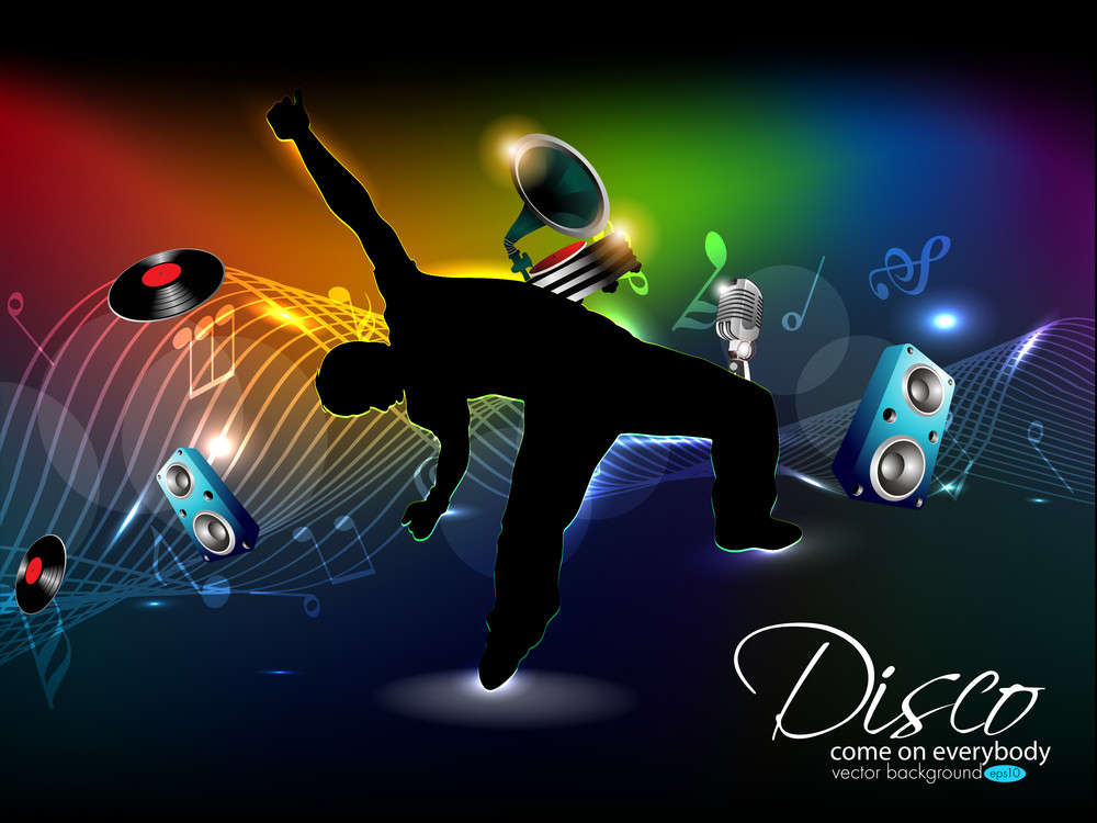 Subscription Library Abstract Colorful Music Dance Background Design For Musical Event10
