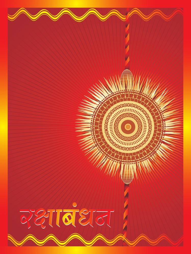 Abstract Concept For Rakshabandhan