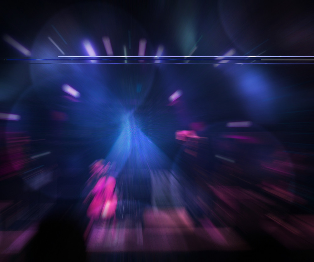 Abstract Concert Blue Background