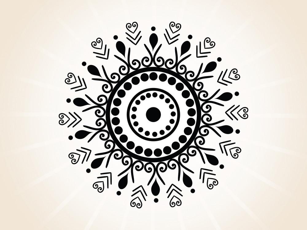Abstract Creative Tatto