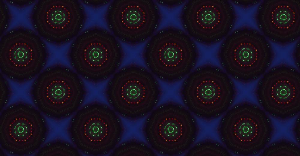 Abstract Dark Retro Pattern
