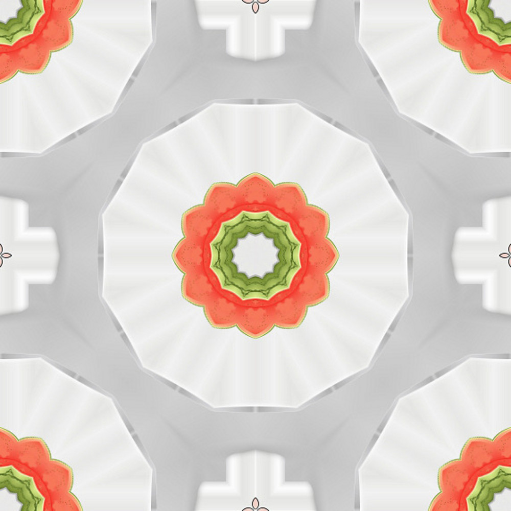 Abstract Decorative Floral Backdrop