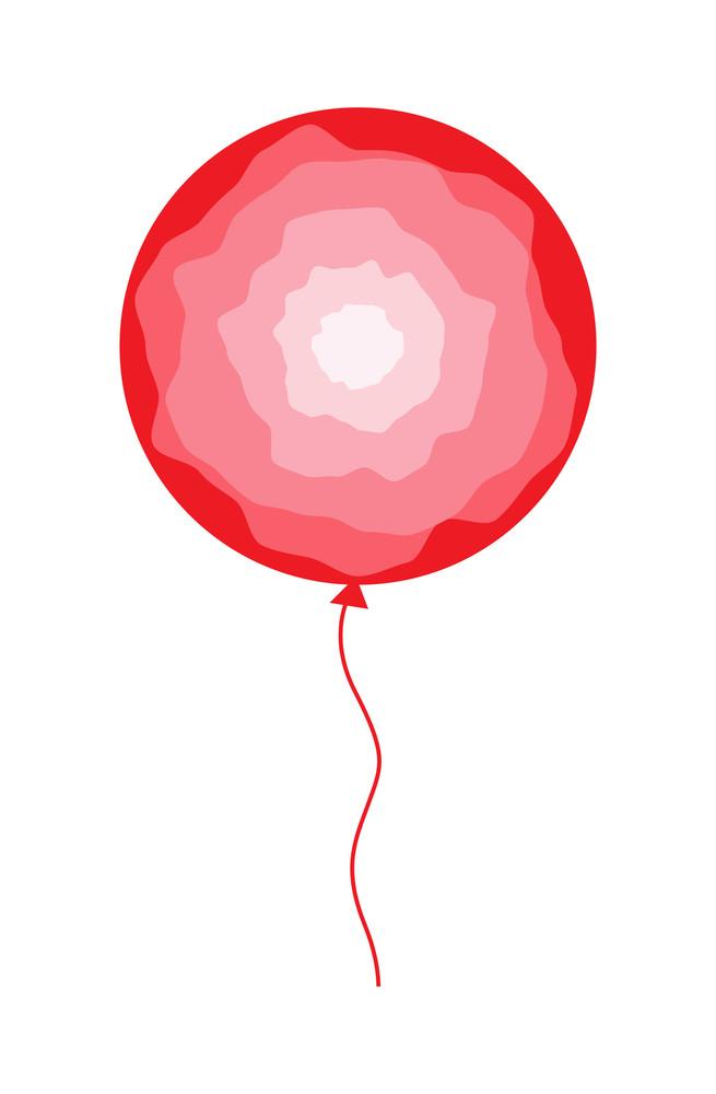 Abstract Design Balloon Vector