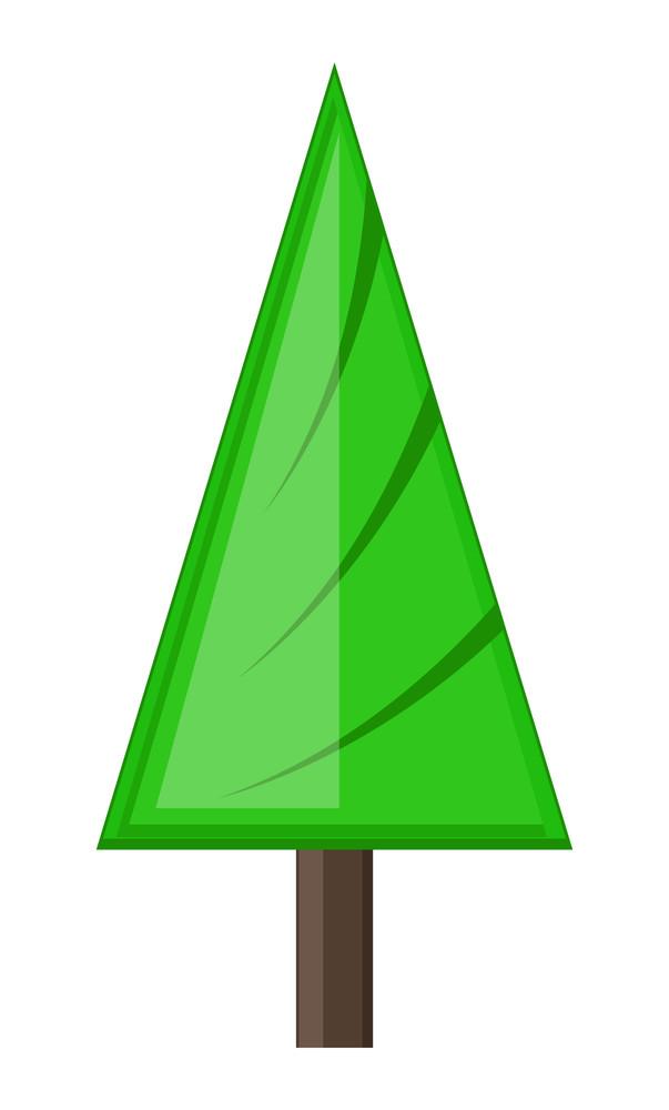 Abstract Design Christmas Tree
