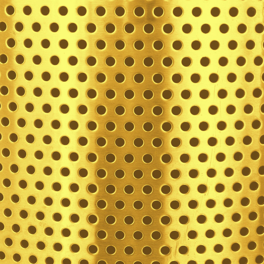 Abstract Dotted Metal Sheet