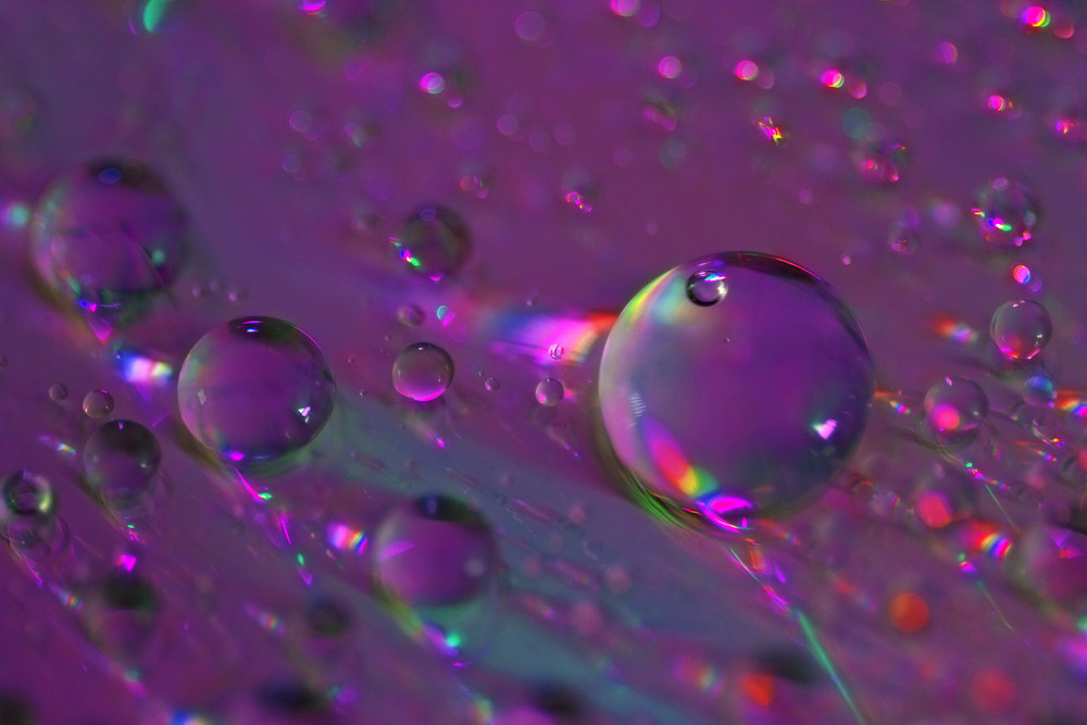 Abstract Drops Texture Background