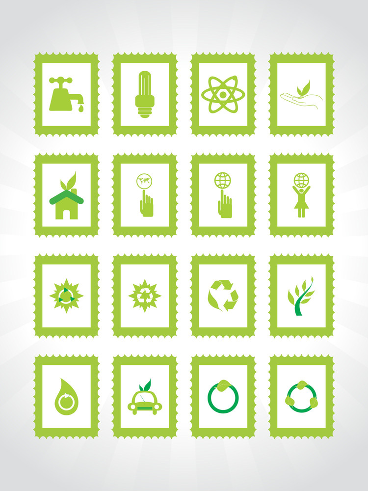 Abstract Ecology Series Icon Set9