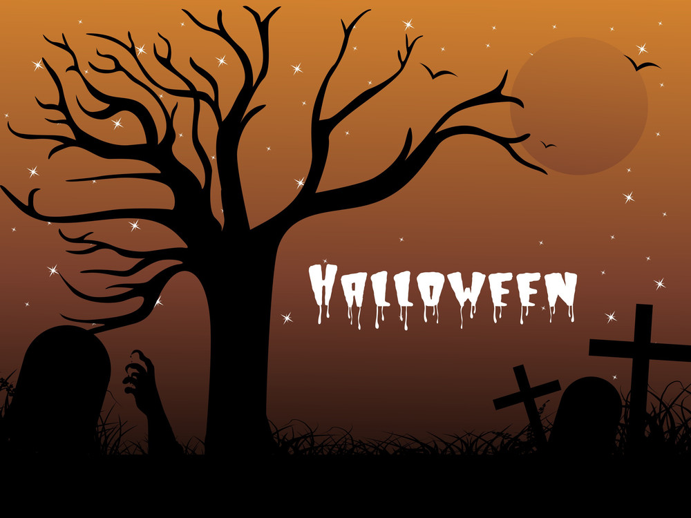 Abstract Elegant Background For Halloween