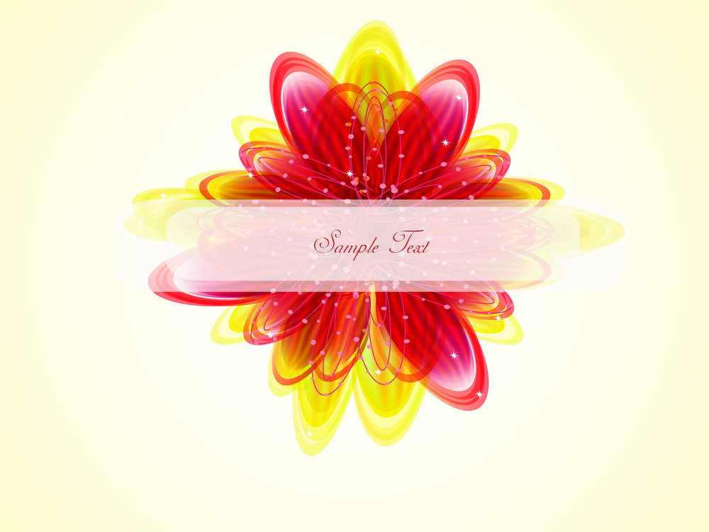 Abstract Eminent Flower Background.