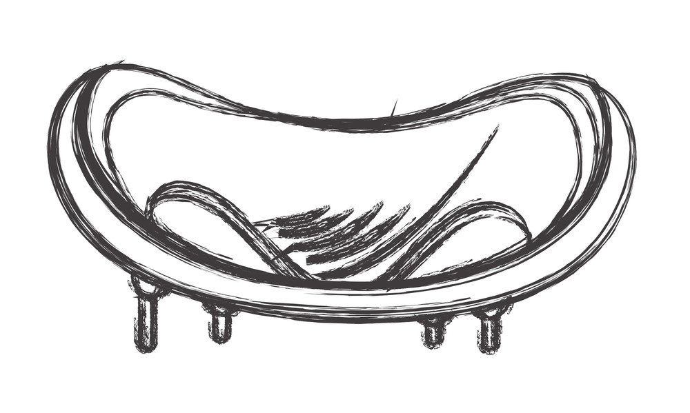 fancy couch drawing. Fine Fancy Abstract Fancy Sofa Drawing Art In Couch A