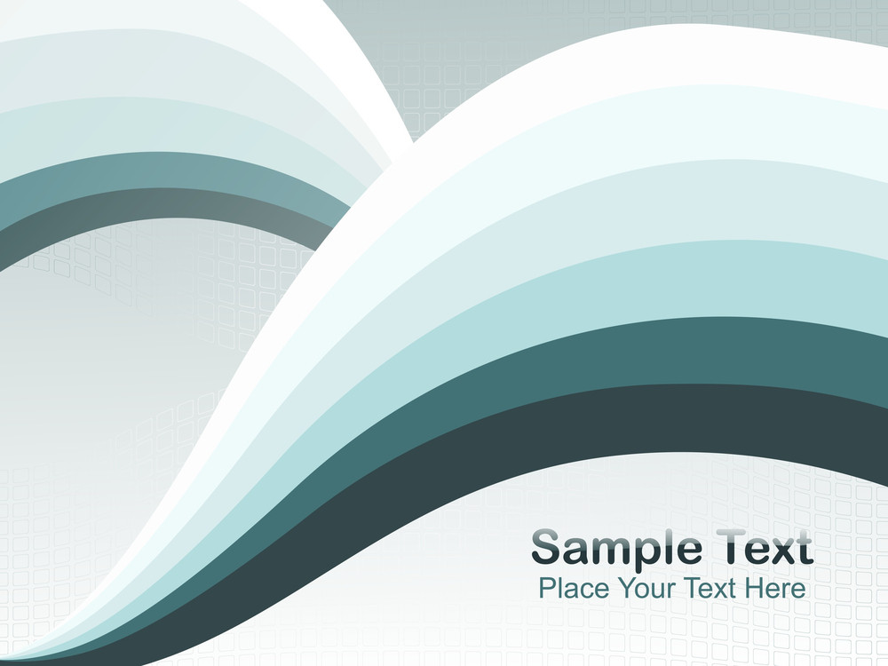 Abstract Fancy Wave Vector