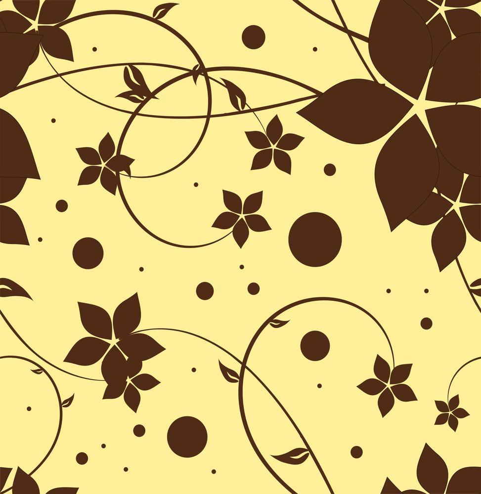 Abstract Floral Background. Eps 10.