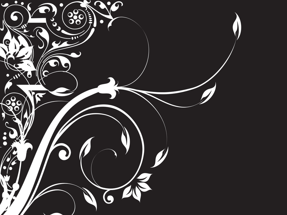 Abstract Floral Background Series7 Design7