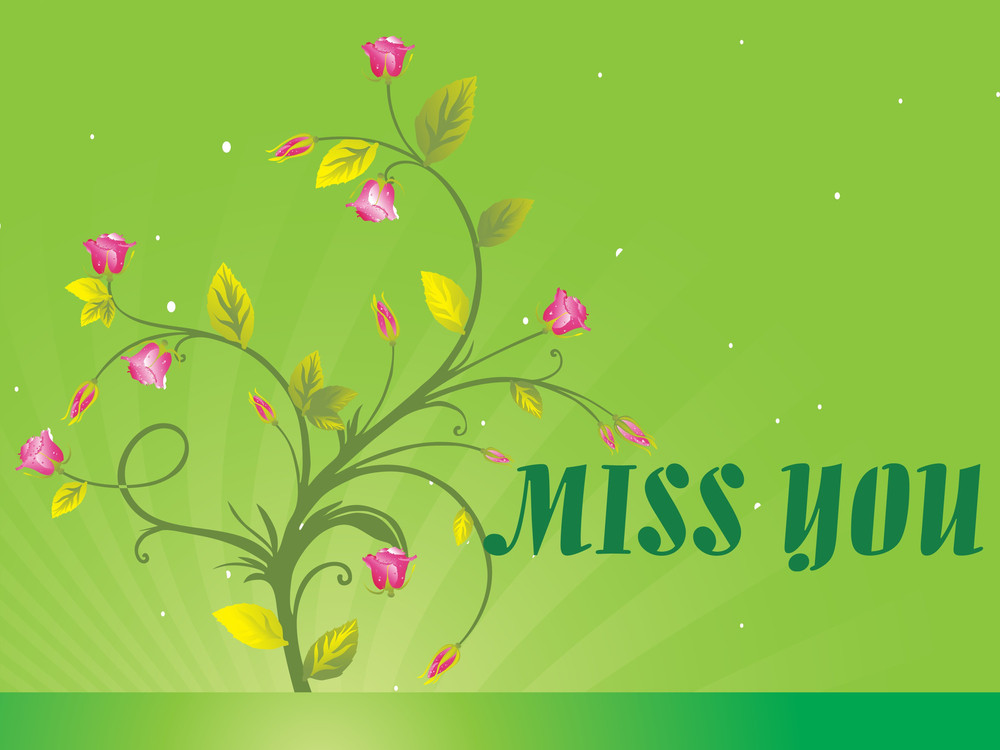 Abstract Floral Vector With Place For The Text Design8
