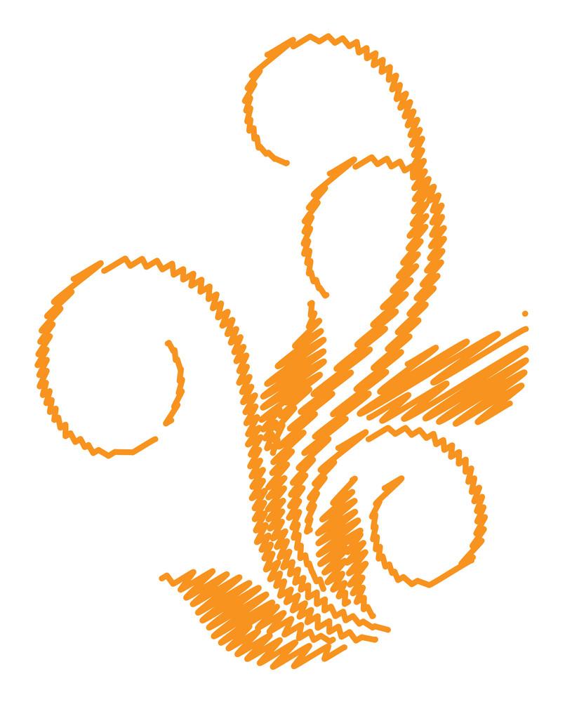 Abstract Flourish Design