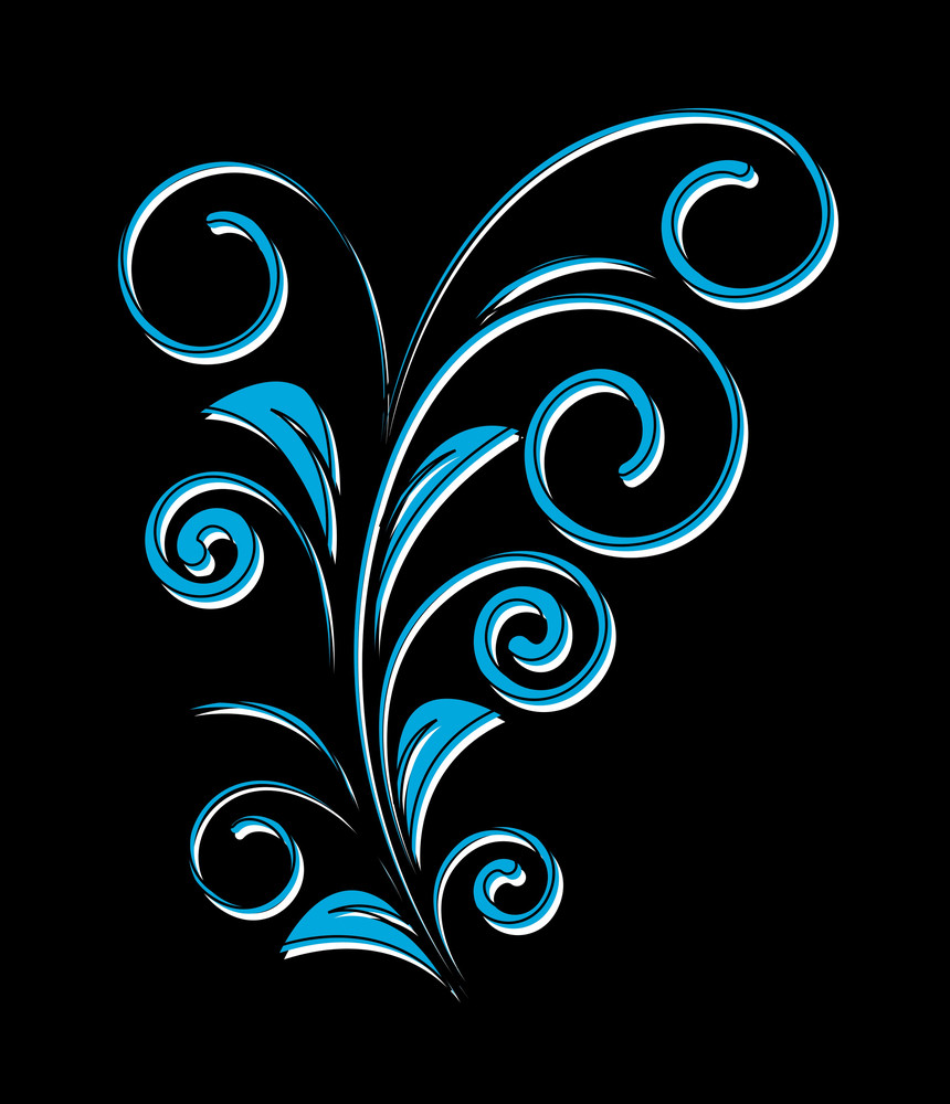Abstract Flourish Element