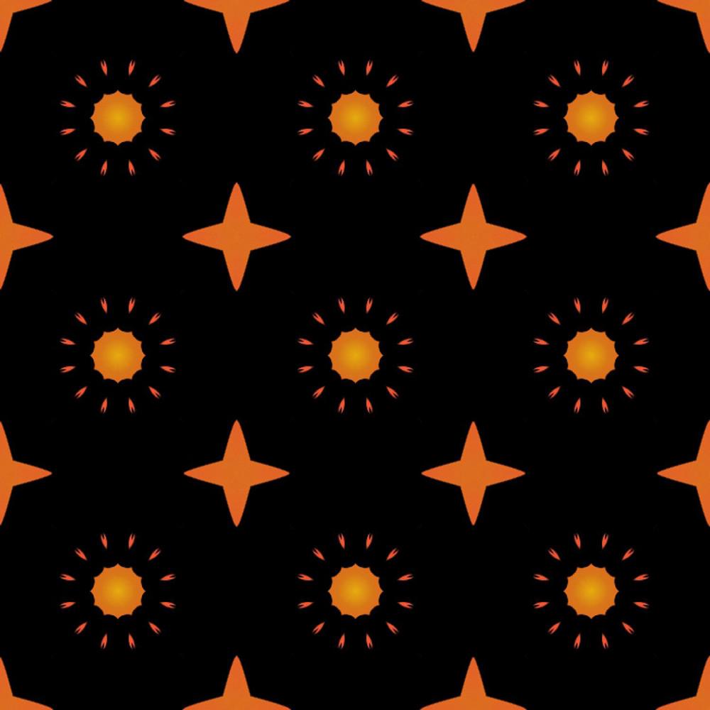 Abstract Flourish Pattern Design Bg
