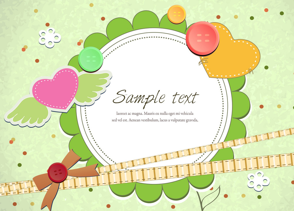 Abstract Frame Vector Illustration