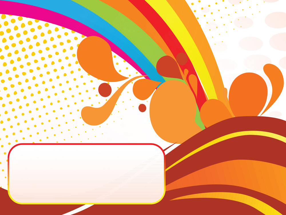 Abstract Funky Vector Background For Text32