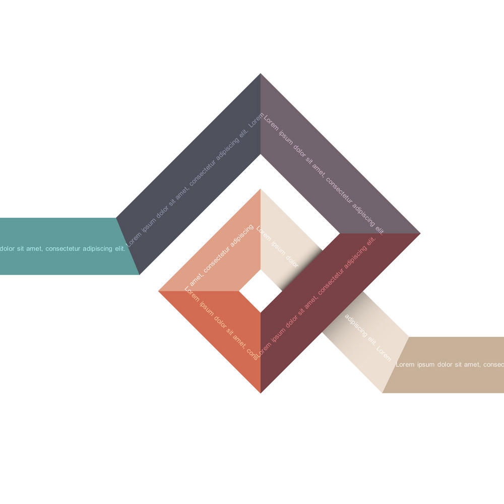 Abstract Geometric Shape For Design